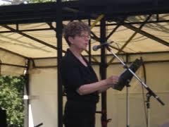 Arleen reading at Congress, UVic, June 2013